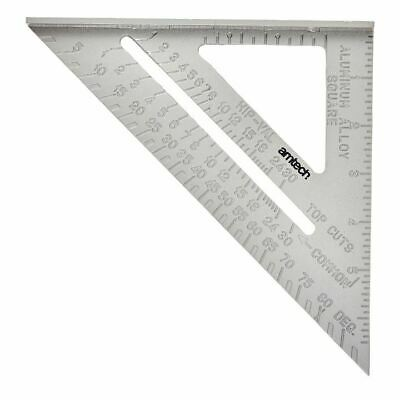 """Speed Square/Roofing/Rafter Angle Triangle Guide Quick Measure 6""""Aluminium Alloy"""