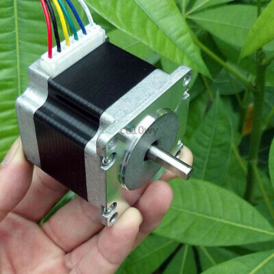 NEMA 23 Stepper Motor 2-phase 6-wire 1.8° 57mm Stepping Electric Motor for CNC