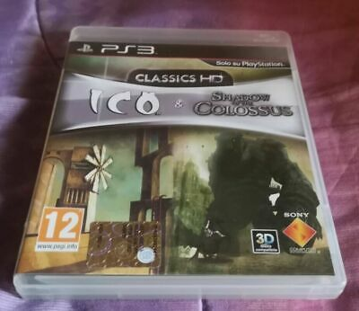 PS3 Ico & Shadow Of The Colossus Collection HD Italiano Come Nuovo