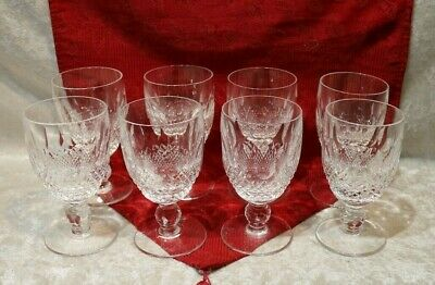 "Waterford Crystal Wine Claret ""COLLEEN"" Pattern-Hallmarked"