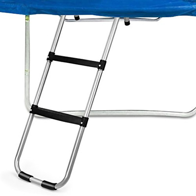 Gardenature Trampoline Ladder-2 Steps Wide-Step Ladder