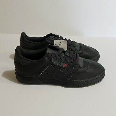 NWT ADIDAS YEEZY Powerphase Calabasas Core Black Leather