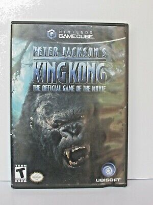 Nintendo Game Cube Video Game Peter Jackson's KING KONG with case