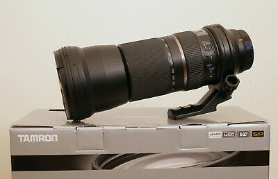 Tamron SP A011 150-600mm f/5-6.3 VC Di USD Lens For Canon with B+W 95mm CPL