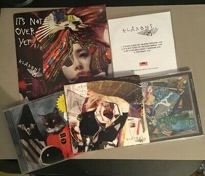 The Klaxons Bulk Lot X4 Surfing The Void Its Not Over Yet Promo CD / Vinyl