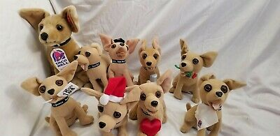 A Lot of 9 Taco Bell Chihuahua