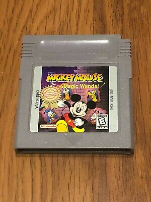 Disney's Mickey Mouse: Magic Wands (Nintendo Game Boy, 1998) Cart Only!