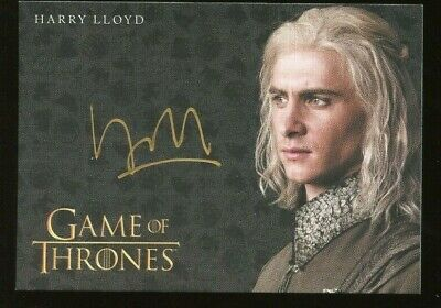 Game of Thrones Inflexions Gold AUTO/Autograph -Harry Lloyd as Viserys Targaryen