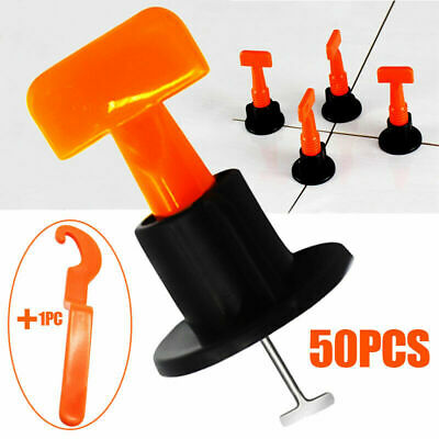 New 50PCS Tile Positioning Leveler Household Tiles Leveling System Laying Aid