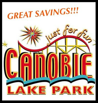 Canobie Lake Park Tickets $33 A Promo Tool Discount Savings ~ Great Deal!!