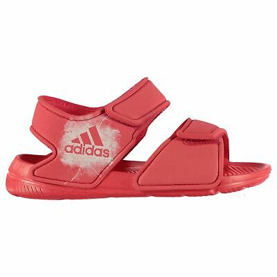 adidas Alta Swim Sandals Childs Girls Pink Flip Flops Thongs Beach Shoes