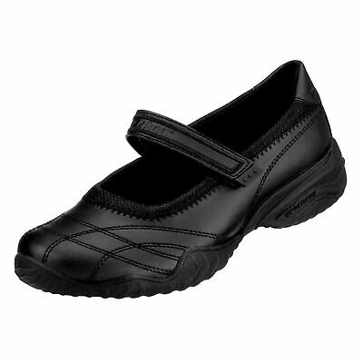 Skechers School Mary Jane Shoes Juniors Girls Black Kids Footwwear