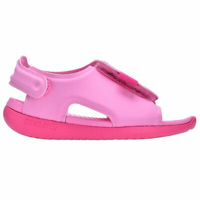 Nike Sunray Adjust 5 Sandals Infants Girls Pink Flip Flop Thongs Beach Shoes