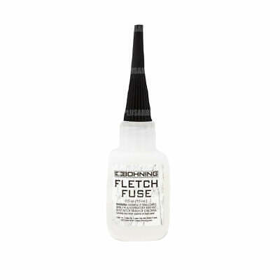 Bohning Fletch Fuse Feather Vane & Nock Adhesive Glue for Archery Arrows