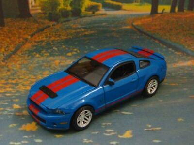 2010 Ford Shelby Mustang GT500 5.4L V-8 Coupe 1/64 Scale Limited Edition B