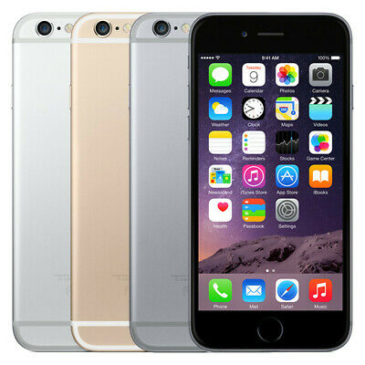 Apple iPhone 6+ Plus A1522 64GB All Colors GSM Unlocked AT&T T-Mobile Smartphone