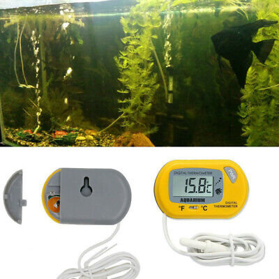 LCD Aquarium Digital Thermometer Fish Tank Pet Terrarium Water Temperature Meter