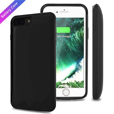 External Power Bank Pack Battery Charger Backup Case for iPhone 6 6S 7 8 Plus XS