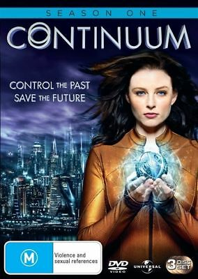 Continuum : Series 1 (DVD, 3-Disc Set) REGION-4- NEW-FREE POST IN AUSTRALIA