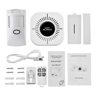 SOLAR-POWERED MOTION DETECTOR Alarm With Auto Dialer + IR Remote +
