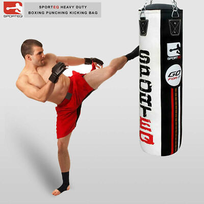 Sporteq New 3ft/4ft/5ft Heavy Filled Professional Rex Boxing Punching Bag Sets,