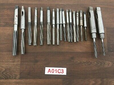 Joblot Of Milling Turning Reamers Hss Various Sizes And Make