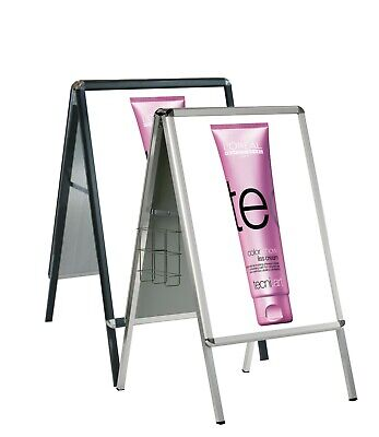 UK Stock.Snap Frame A-board.Pavement Sign.Advert Display Stand.8 Colours,5 Sizes