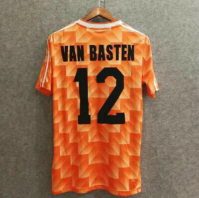 Holland Netherlands 1988 Retro Football Soccer VAN BASTEN 12 Shirt Home jersey