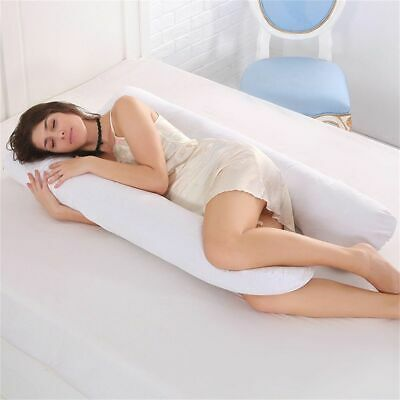 Extra Fill 9 Ft Comfort U Pillow Body  Support Nursing Maternity Pregnancy Care