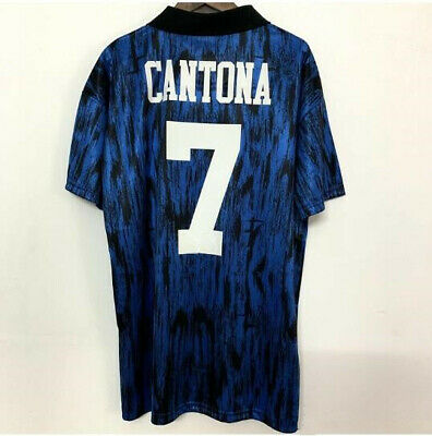 CANTONA 7 Football Shirt 1993-94 MAN UTD Retro Jersey Manchester Soccer shirt