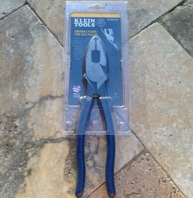 🌟🎈 Klein Tools D213-9NETP-SEN Fish Tape Pulling Side Cutters 9'' D213-9NETP 🌟