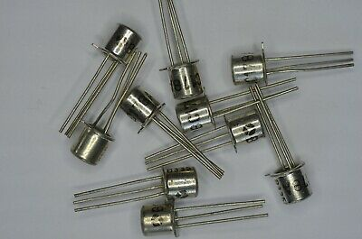 10 transistors BC178A PNP Vce25V Ic0,2A TO-18  THOMSON