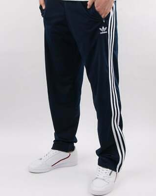 adidas Originals Firebird Track Pants in Navy - 3 stripe tracksuit bottoms