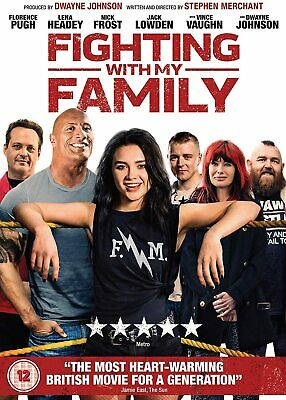 Fighting With My Family (DVD) Florence Pugh, Lena Headey, Nick Frost