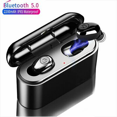 Wireless Bluetooth Headset Dual Earphone Earbuds True TWS for iPhone Android IOS