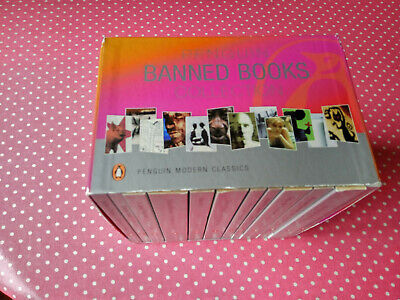 Penguin BANNED BOOKS Collection. 12 Modern Classics Set with Box