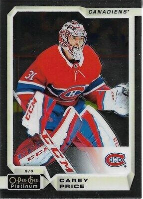 Montreal Canadiens - 2018-19 O-Pee-Chee Platinum - Complete Base Set Team (6)