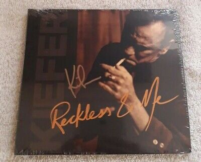 Kiefer Sutherland - Reckless & Me -Exclusive Signed Edition - Brand New & Sealed