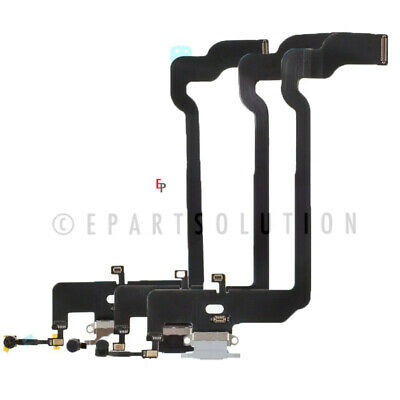 iPhone XS USB Charger Charging Port Dock Connector Flex Cable + Mic Replacement