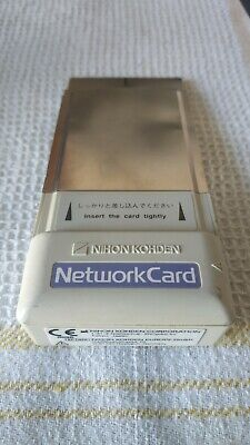 Nihon Kohden QI-101P Network Card - Perfettamente funzioante - Perfect Working