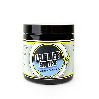 Larbee Swipe By Crisbee - Cast Iron Seasoning - Free Shipping