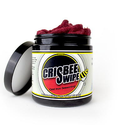 Crisbee Swipe - Cast Iron Seasoning - Free Shipping