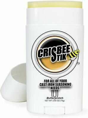 Crisbee Stik Butterscotch Scent Cast Iron Seasoning