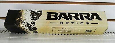 Barra Rifle Scope H20 3-9x32 BDC Reticle Capped Turrets Hunting Precision NEW