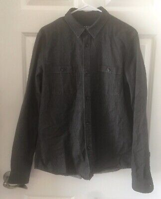 3XB /& 4XB Men/'s Residence Solid Grey L//S Thermal Crew Shirt MSRP $90