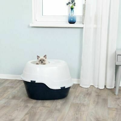 Top Entry Cat Litter Box/ Tray, High Sided, Leak Resistant, Easy Clean
