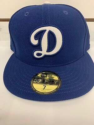 big sale 04210 ac8bb MLB New Era 59Fifty Los Angeles Dodgers Fitted Hat Blue Size 7 Cap