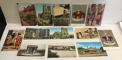 Lot Of (56) Vintage And Antique Postcards