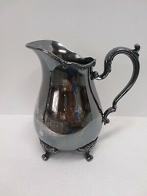 1847 Roger Bros International Silver 9217 Reflections Footed Pitcher