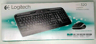 289e6fb42c6 Logitech MK320 Wireless Desktop Keyboard and Mouse Combo 2.4GHz Encrypted